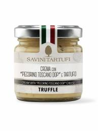Crema con Pecorino Toscano e Tartufo